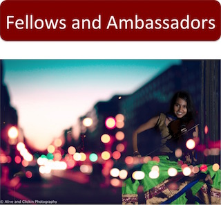 Fellows and Ambassadors: a profile listing of all of our Fellows and Ambassadors