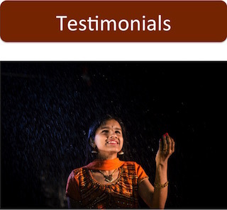 Testimonials: IndianRaga productions have received praise from well recognized institutions like NPR and the Lincoln Center