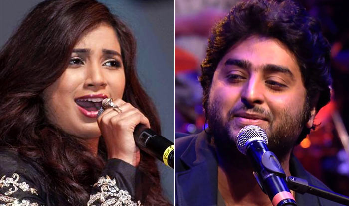 Arijit Singh and Shreya Ghoshal
