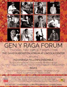IndianRaga Raga-Flyer-Orange-232x300 Lincoln Center