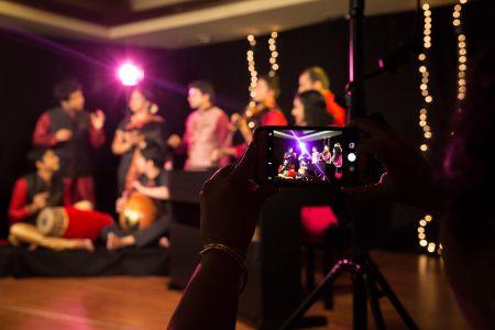 IndianRaga The-set-through-the-camera-lens-450x300 Instagram Feature Program