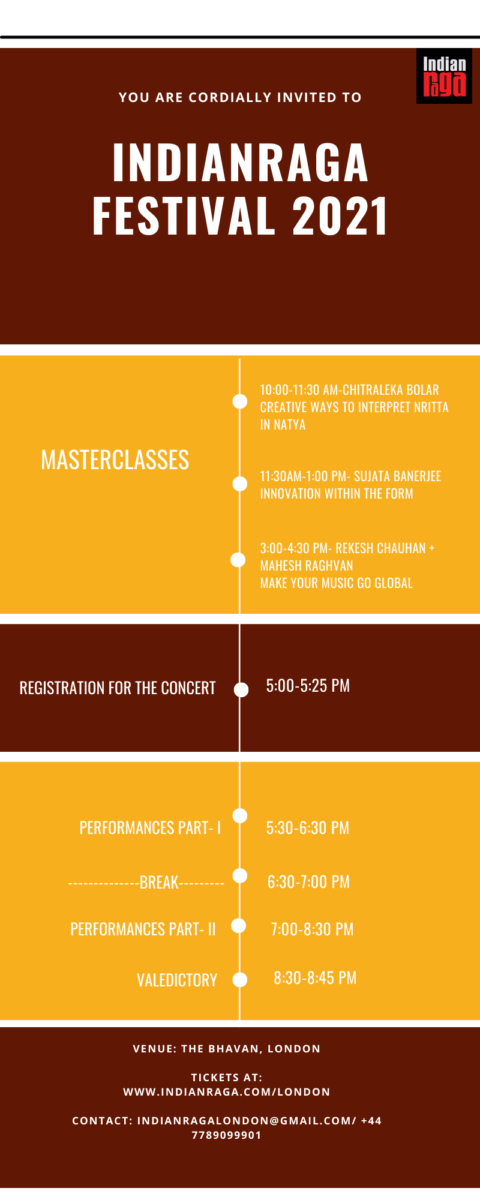 IndianRaga IndianRaga-Festival-2021Concert-Schedule London